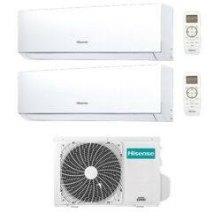 Voorbeeld Hisense multisplit airconditioning